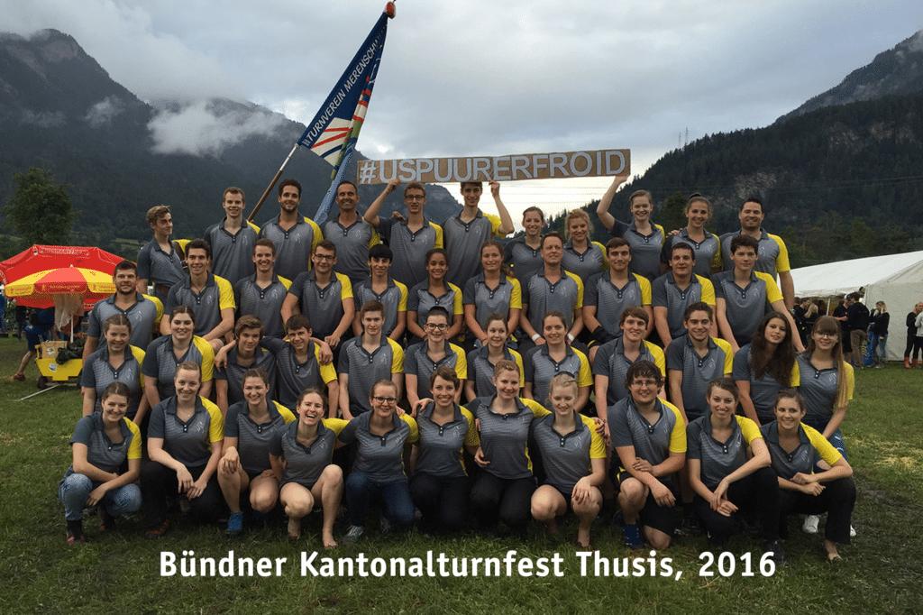 Bündner Kantonalturnfest Thusis 2016